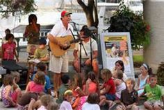 Shannon Tanner performing at Shelter Cove Harbor, Hilton Head Island