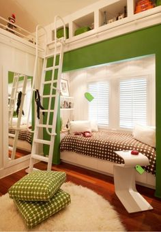 Small Spaces... stylish room for a kid or  teen