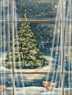 """Christmas Night"" - by Veronica Minozzi"