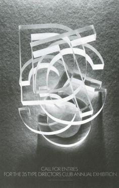 TDC35  Paccione Design, New York, New York, 1990