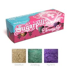 Sugarpill Cosmetics - Zillionaire Loose Eyeshadow Trio