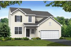 Three bedrooms, 2.5 baths and 2,000 square feet. The Augusta Plan from Centex Homes in the Bristol Bay community. Yorkville, IL near Chicago. New homes starting at $149,990.