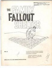 1960 How & Why Build THE FAMILY FALLOUT SHELTER CD Booklet ATOMIC HYDROGEN BOMB