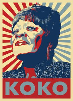 """got to see her perform--Koko Taylor sometimes spelled KoKo Taylor (September 28, 1928 – June 3, 2009)[ was an American blues musician, popularly known as the """"Queen of the Blues."""" She was known primarily for her rough, powerful vocals and traditional blues stylings."""