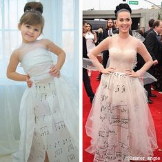Adorable Paper Fashionista, WHO WORE IT BEST?