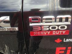 Dodge Ram 3500 Heavy Duty Cummins Logos