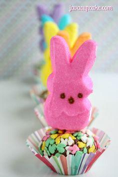 Spring Hop Along PEEPS Party - PEEPS Truffles by JavaCupcake