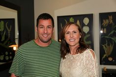 """SNL"" Alums Adam Sandler And Molly Shannon Hang Out In The Green Room"