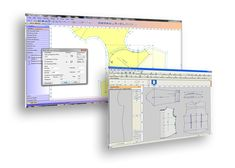 'PDS - Pattern Design Software' by OPTITEX. (Industry software) software tools designed for drafting new patterns or editing existing pattern pieces. [Pattern Making / Cutting / Drafting software.