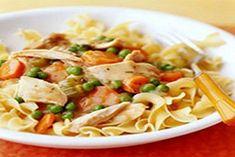 WW Chicken Noodle Casserole-6 Points+ Makes 6 Servings, 1-1/2 cups per serving.
