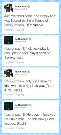 A conversation between gentlemen  - funny pictures #funnypictures