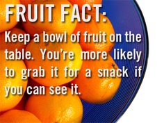 Fruit Fact!