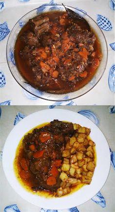 Rabo De Toro En Salsa. Recetas, Gastronomía, Food, Gastronomy, Recipes...