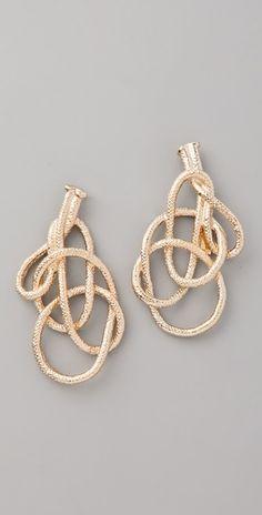 rope earrings