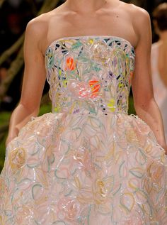 Dior S/S 2013 couture