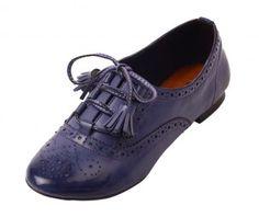 Purple Funtassel Oxfords - Le Bunny Bleu