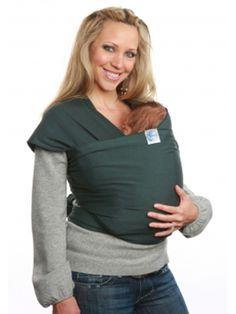 Moby wrap. This thing was a lifesaver!!! I love my moby :)