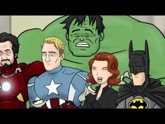 How The Avengers Should Have Ended! I think I just died laughing. As with the movie just keep watching! LOL.