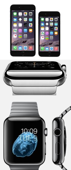Apple finally joins the big-phone party with the 5.5-inch iPhone 6 Plus and the 4.7-inch iPhone 6. To sweeten the pot, Apple also rolls out its Apple Watch smartwatches. CLICK THE PIC to read my coverage in the @nydailynews #iPhone6 #AppleWatch