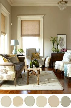 Beautiful Living Style: Color: Staging Your Home For Sale   Color Inspiration: Manchester Tan HC-81, Monroe Bisque HC-26, Camoflage 2143-40, Carrington Beige HC-93, Shaker Beige HC-45, Nantucket Gray HC-111