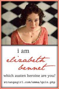 jane austen and elizabeth bennett essay
