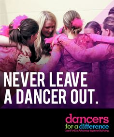 Never leave a dancer out. Learn more at: https://www.justforkix.com/dancersforadifference