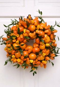 autumnal wreath.