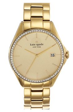 Love this gold Kate Spade watch. Priced at $250 I say go for it!