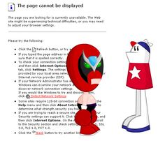 Did you forget Homestar? Check the animation: http://www.homestarrunner.com/systemisdown.html