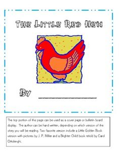 The Little Red Hen is a common story that most children are familiar with, but is always worth repeating.  Here you will find 22 pages of activitie...