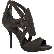YEARLY – MATTE SNAKESKIN SANDALS