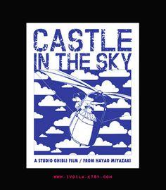 Castle in the Sky // Miyazaki and Ghibli Art Print