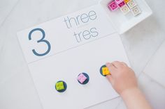 printable counting cards in english and spanish | Kaley Ann blog