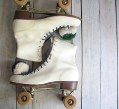 Pom Pom Pretty - Roller Girl - Rockin it old School - vintage roller skates