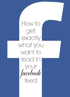 creating a Facebook interest list so that you see exactly the updates you want to see in your newsfeed.