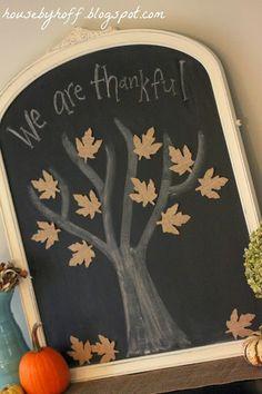 chalkboards, houses, hoff, burlap leav, trees