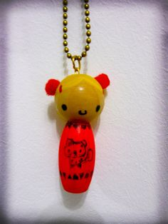 wooden doll hanging by ♥ Rapsha ♥, via Flickr