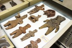 Archaeology artifacts in our collection that originate from Central Mexico.