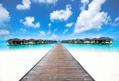 ~ Maldives water villas ~ by ρrakaz (Digital Monk), via Flickr