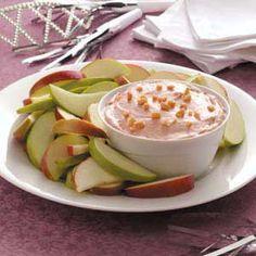 Nutty Caramel Apple Dip