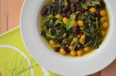 Vollwert-Blog: Arabische Kichererbsen-Spinat-Suppe