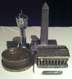 Recent Additions from the Souvenir Buildings Collectors conference in Minneapolis :)