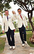 Congrats to the groom & groom! #wedding  Photo credit to @MoniqueFeil