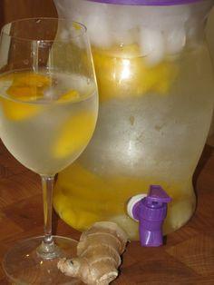 Mango Ginger Water