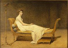 Madame Récamier, c. 1800 | Louvre Museum | Paris