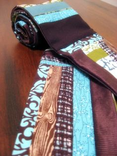Use scrap fabric to makes scarves!