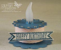 Debbie's Designs: Merry Monday Happy Birthday Blog Hop!