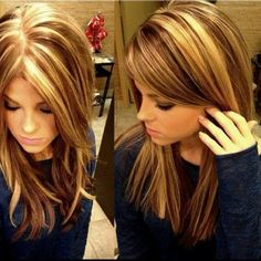 Beautiful, I wish I had lighter hair so I could do this