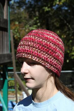 Ravelry: Just-Like-That Hat pattern by Jenn Wolfe Kaiser