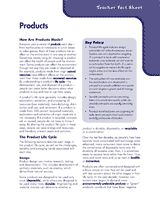 #Education This activity guide about products will help teach the concept of responsible product purchasing and use to students.     If you like this pin, re-pin or like it :)   http://subjectbase.com